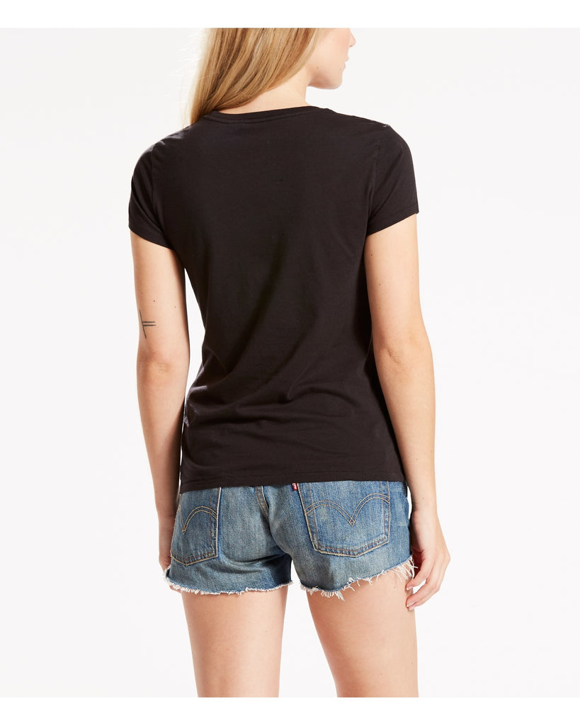LEVI'S The Perfect Batwing Tee - Black - ShopVimVixen.com
