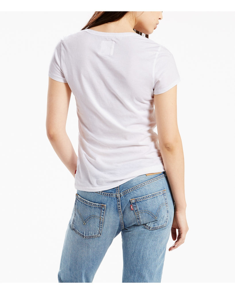LEVI'S The Perfect Batwing Tee - White - ShopVimVixen.com