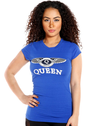 QUEEN TEE (AVAILABLE IN 3 COLORS)