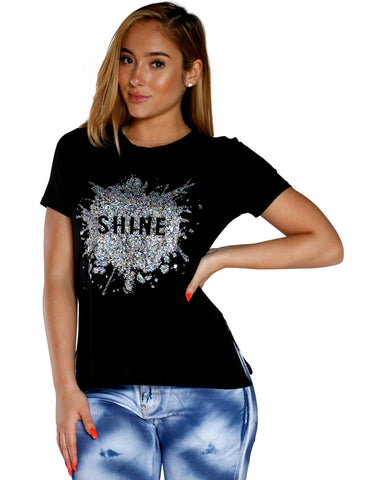 SHINE BRIGHT TEE (AVAILABLE IN 2 COLORS)