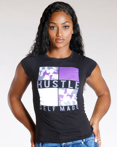 Hustle Self Made Tee (Available In 2 Colors)