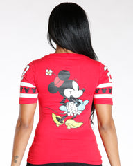 VIM VIXEN Minnie Back & Front Print Hockey - ShopVimVixen.com