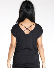 VIM VIXEN Heart Arrow Criss Cross Front & Back Top - ShopVimVixen.com