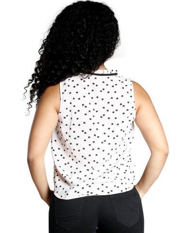 CAT CALL TOP (AVAILABLE IN 2 COLORS)