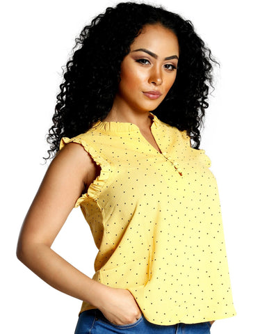 POLKA DOT FRENZY TOP (AVAILABLE IN 3 COLORS)