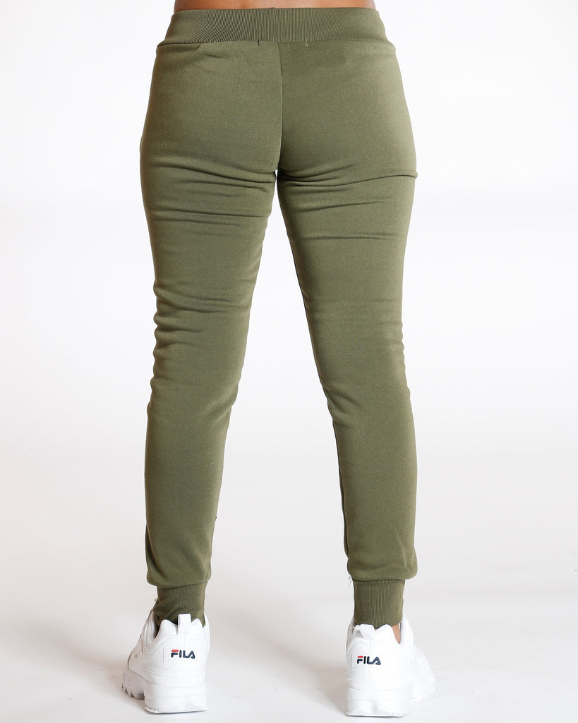 VIM VIXEN Olive Must Have Solid Fleece - Olive - ShopVimVixen.com