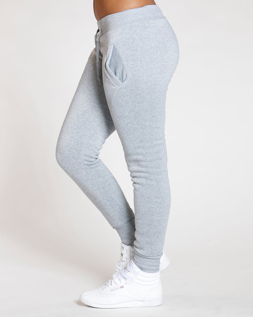 VIM VIXEN Heather Grey Must Have Solid Fleece - ShopVimVixen.com