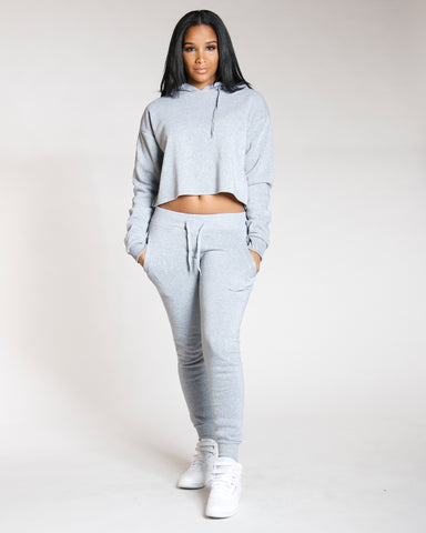 Heather Grey Must Have Solid Fleece