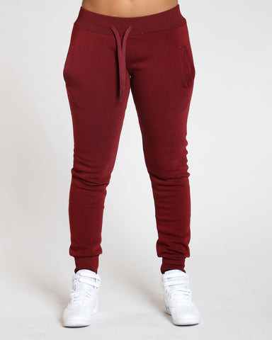 Burgundy Must Have Solid Fleece