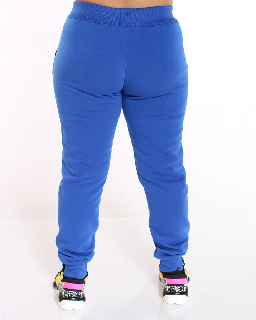 Roma Concept Ollie Fleece Pant - Royal - ShopVimVixen.com