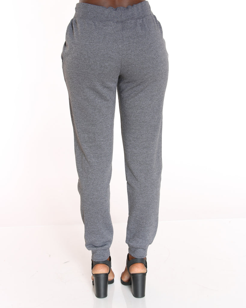CHAMPION Powerblend Fleece Jogger - Charcoal - ShopVimVixen.com