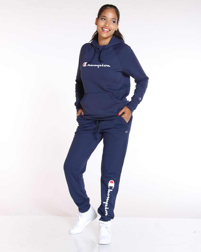 CHAMPION Champion Powerblend Fleece Jogger - Navy - ShopVimVixen.com