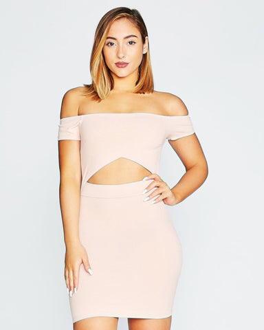FIX ME A COCKTAIL DRESS (Available in 2 colors)