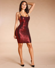 Sequin Bodycon Dress (Available In 2 Colors)