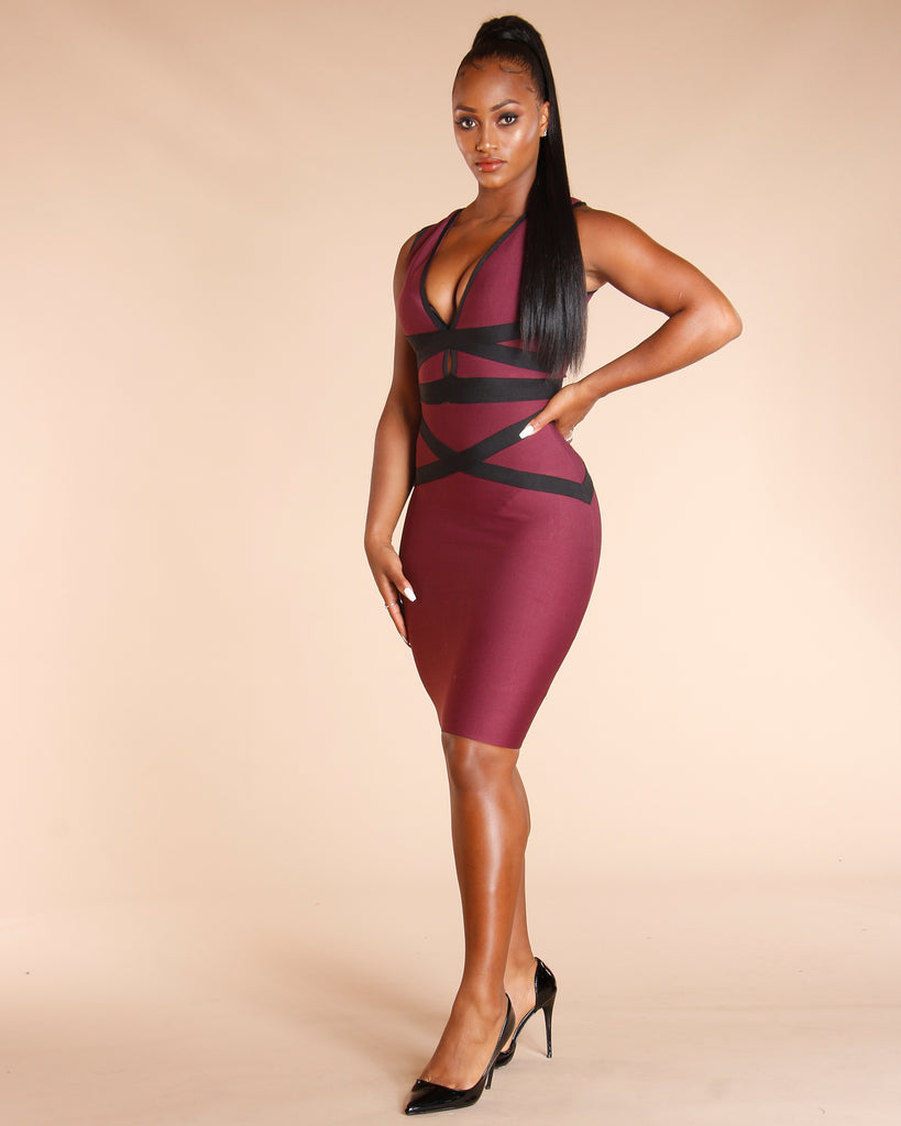 Miss Contour Bandage Dress