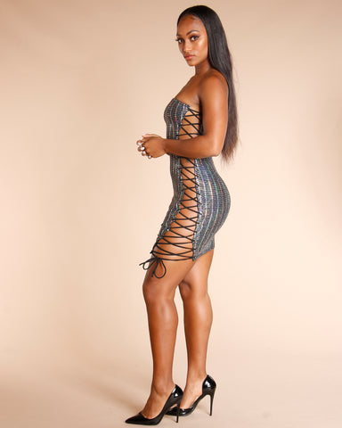 BLING TUBE DRESS