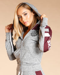 LOVE FLEECE HOODIE (AVAILABLE IN 5 COLORS)