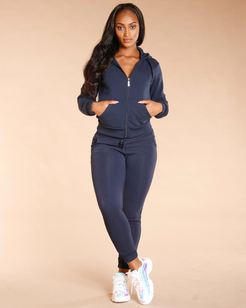 VIM VIXEN Basic Fleece Jogger - ShopVimVixen.com