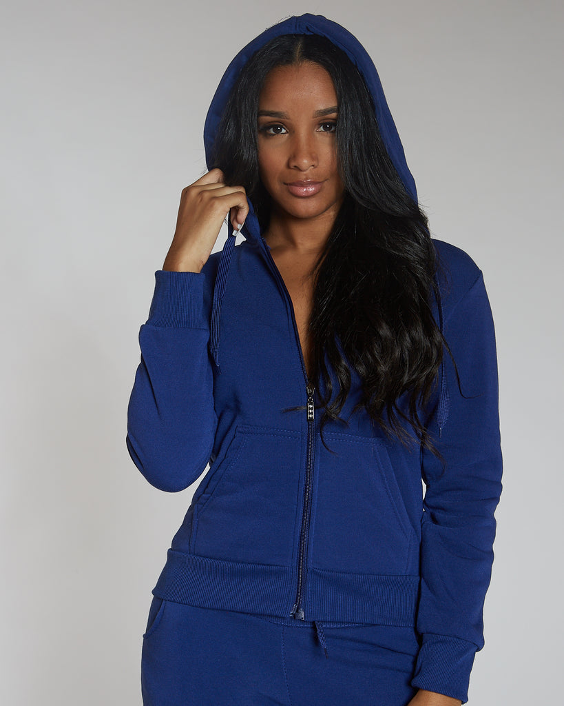 VIM VIXEN Fleece Hoodie - Royal - ShopVimVixen.com