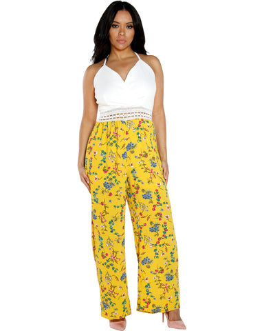 BARBARA FLORAL JUMPSUIT (AVAILABLE IN 2 COLORS)