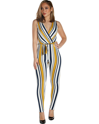 LILY STRIPE JUMPSUIT (AVAILABLE IN 2 COLORS)