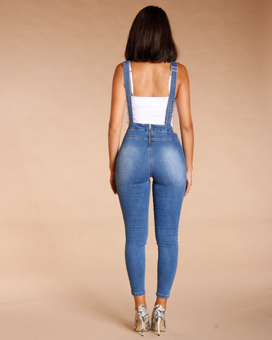 Denim Overall - Medium Blue