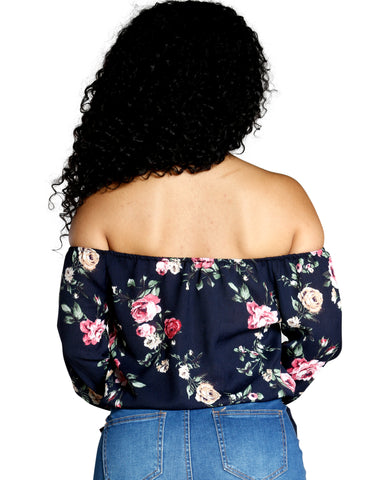 ON THE GO OFF THE SHOULDER TOP (AVAILABLE IN 2 COLORS)