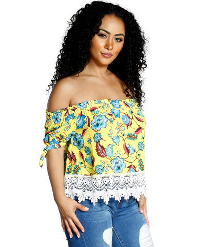 TROPICAL TOP (AVAILABLE IN 2 COLORS)