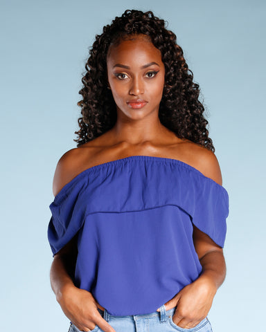 OFF THE SHOULDER TOP (AVAILABLE IN 2 COLORS)