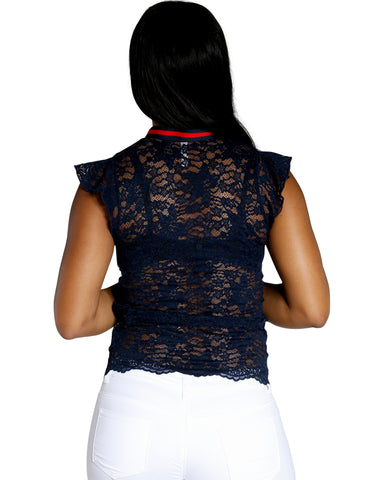 GIVE IT YOUR ALL NECK TIE TOP (AVAILABLE IN 3 COLORS)