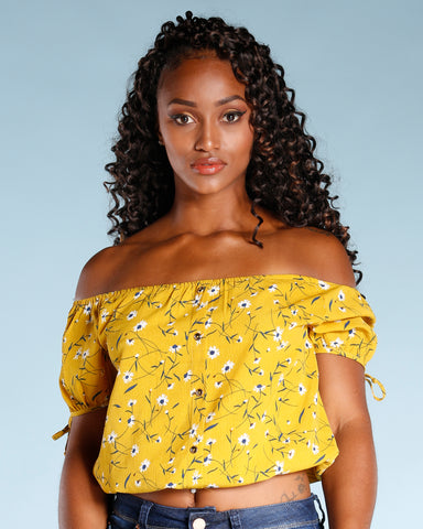 ALL OVER FLORAL TOP (AVAILABLE IN 2 COLORS)