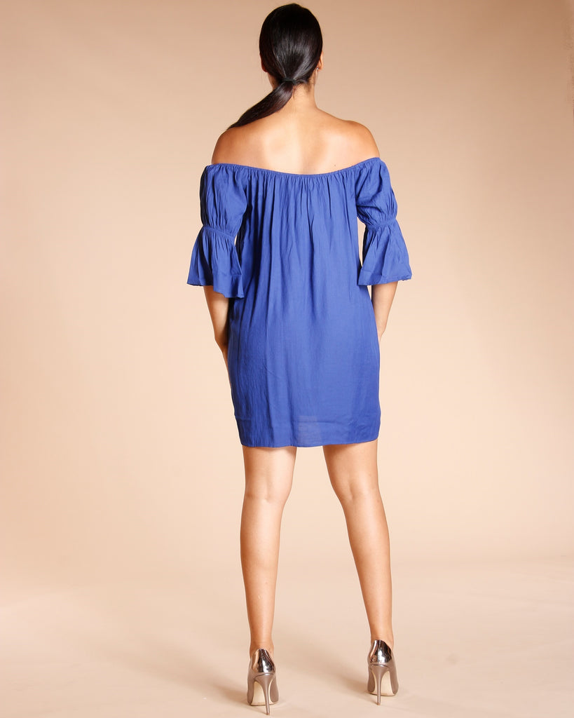 Off Shoulder Tunic (Available In 4 Colors)