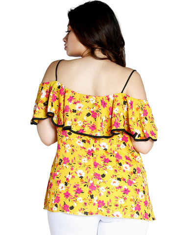 Sweet Craving Floral Top (Available In 2 Colors)