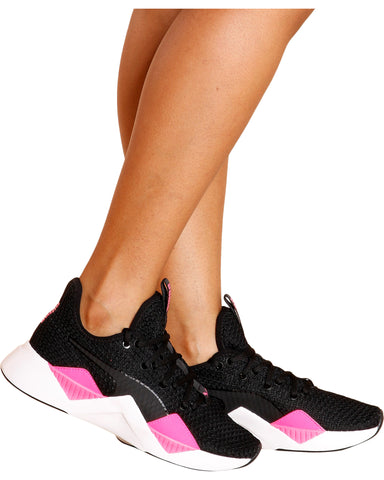 Incite Low Top Sneaker - Black/Pink
