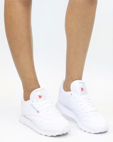 Classic Leather Plus Sneaker-White