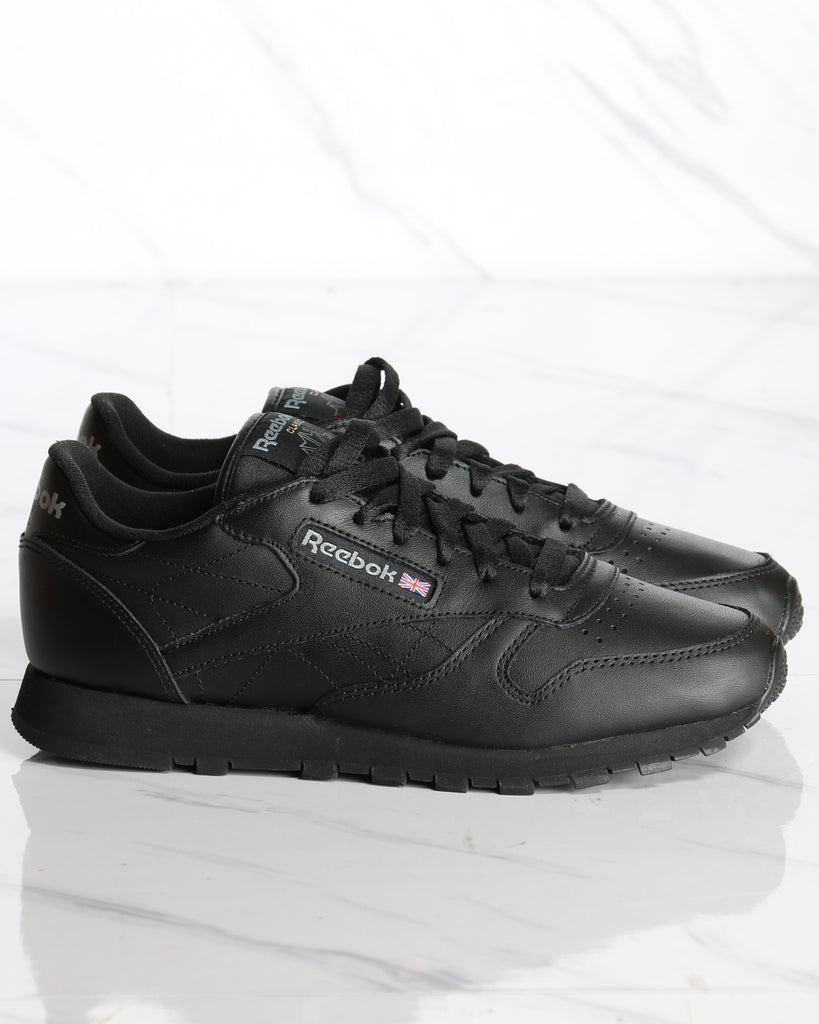 Classic Leather Plus Sneaker - Black