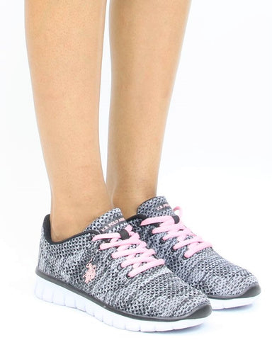 Lace Up Multi Kint Sneaker