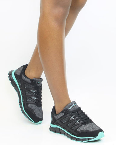 Lace Up Kint Sneakers