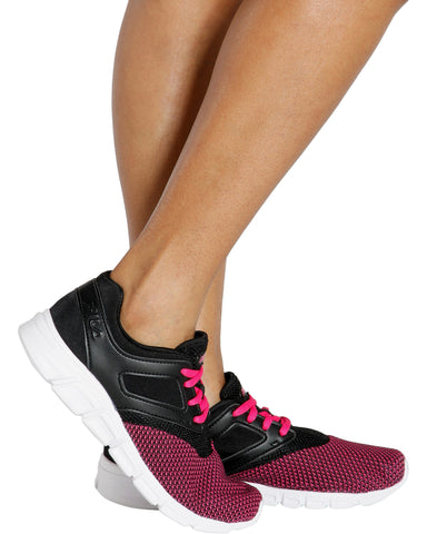 O-Ray Running Sneaker - Pink/Black