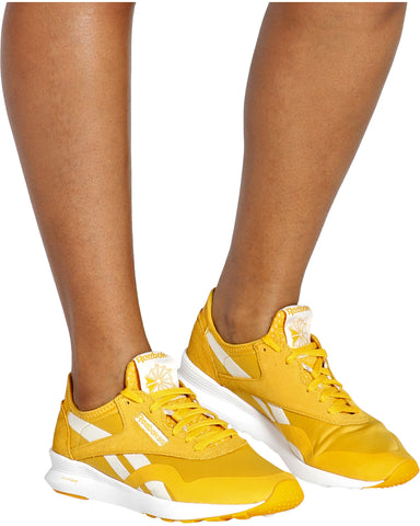 Classic Lifestyle Nylon Sp Sneaker - Gold