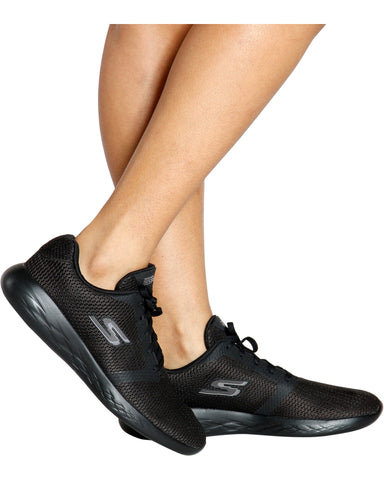 Lightweight Go Run 600 Sneaker - Black