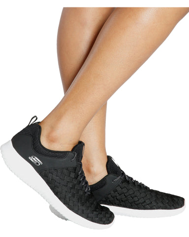 Ultra Flex Running Sneaker - Black/White