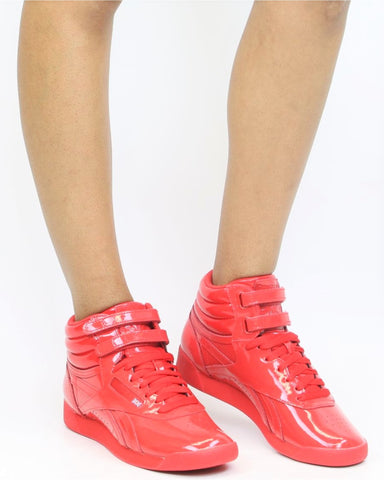 Freestyle Hi Patent Sneakers