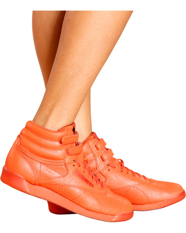 Freestyle Hi-Top Mono Sneaker-Orange