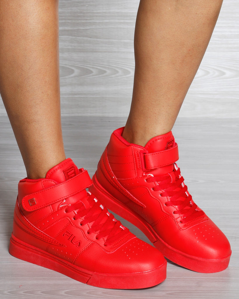 FILA Vulc 13 Mp Tonal Sneaker - Red - ShopVimVixen.com
