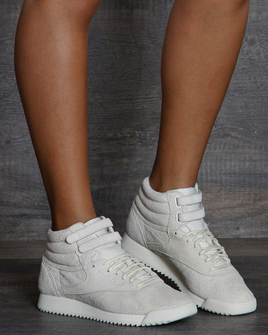 Freestyle Hi Ripple Sneakers - Chalk