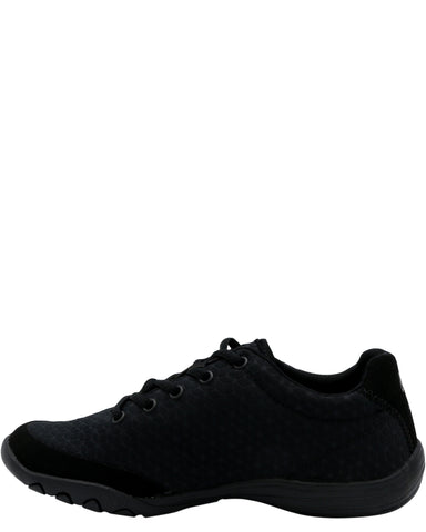 Low Top Comfort Sneaker - Black
