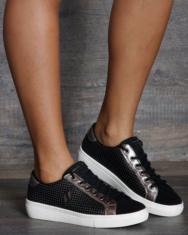 Goldie Daily Glamour Sneakers - Black