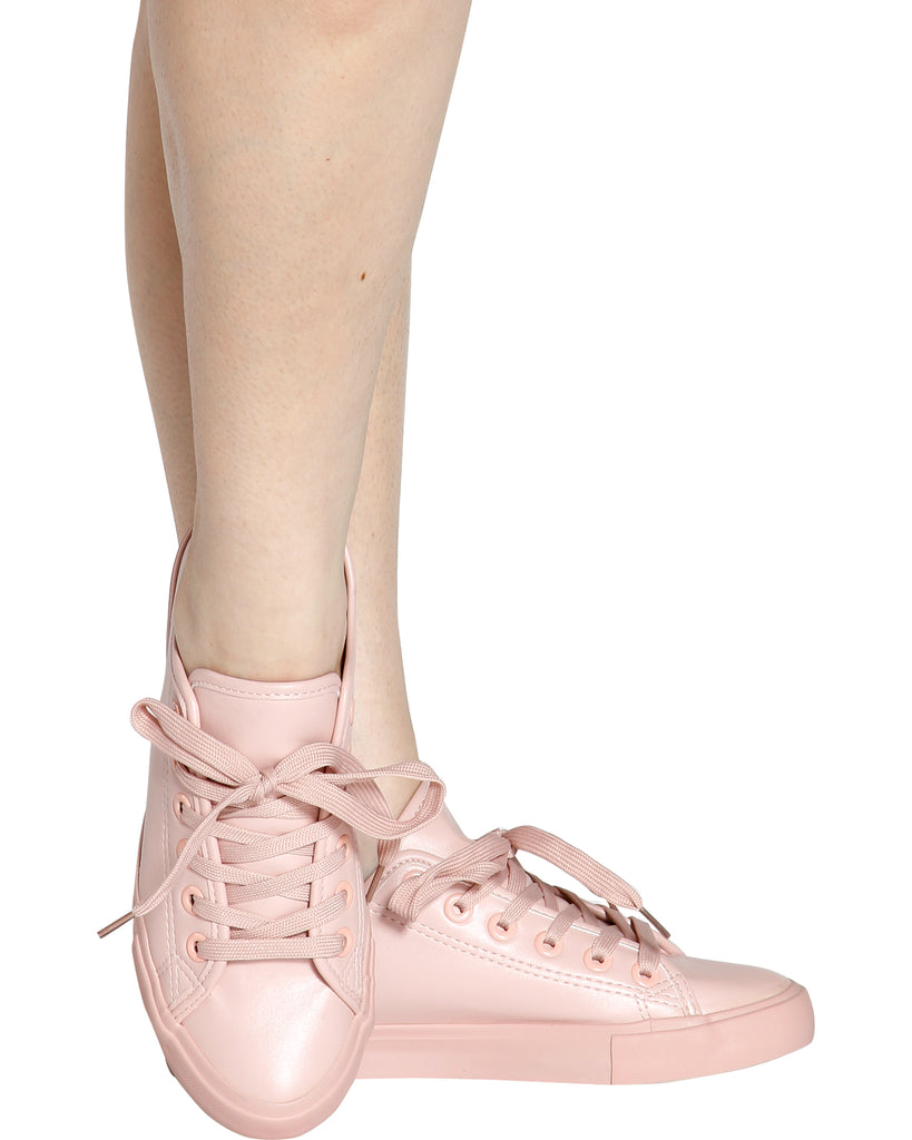 MAY Low Top Fashion Sneaker - Mauve