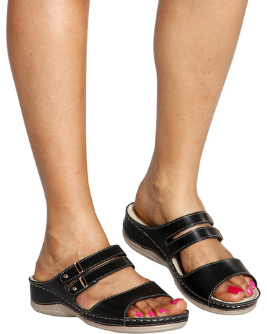 SOLANGE Comfort Sandals (Available in 2 Colors)